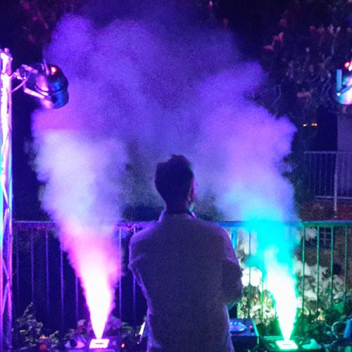 noleggio macchina del fumo geyser